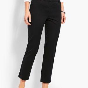 NWT Talbots Perfect Crop Slim Leg Black pant